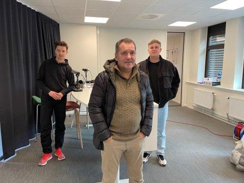 Tor Thodesen er gjest hos Ole Jacob og Daniel i Sportsprat.