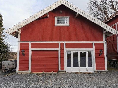 Her kommer den nye butikken på Østgaard.
