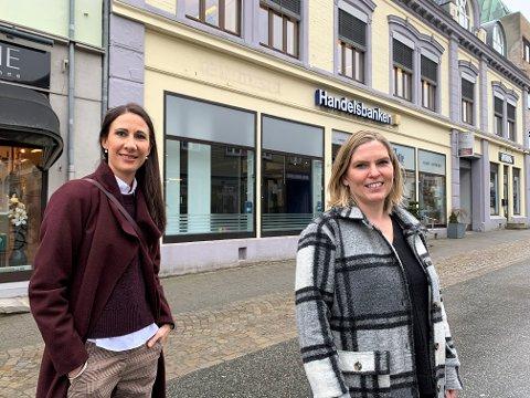 GLEDER SEG: Marianne Flisnes Gravnås og Monica Thomsen Lie starter M&M Optikk på Sydsiden til sommeren. – Vi har bevisst ikke valgt et navn som «Optikeren på Torget». For vi har planer om å vokse. Vi håper å åpne optikerforretninger også i andre byer om ikke så lang tid, sier de.