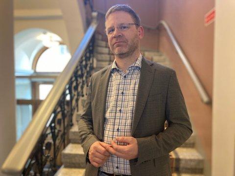Direktør for undervisning og oppvekst, Kent Arne Andreassen, har fokus på økende antall vedtak for spesialpedagogiske tiltak.