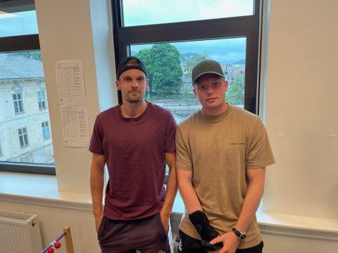 Øystein Lundblad Næsheim (tv) og Fabian Næss skal skyte Kvik til toppen av tabellen i 2021.
