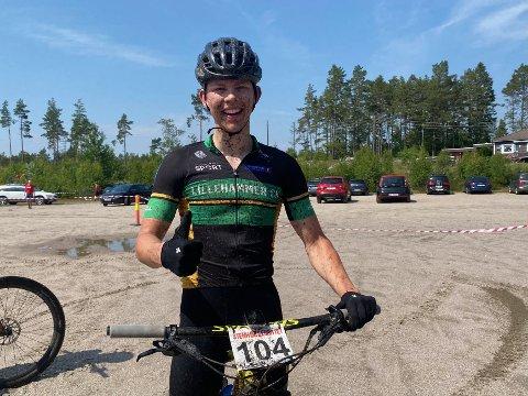 Overlegen seier: Ole Sigurd Rekdahl vant årets Stenhoggerritt med tiden 1.47.30 - hele ett minutt foran andreplassen.