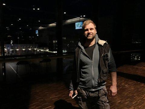I HAMAR: Vebjørn Sand gleder seg til å være i kulturhuset denne helgen.