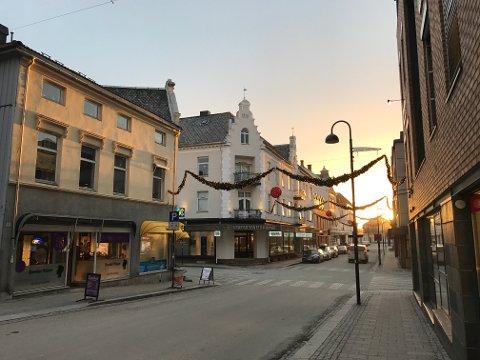 FORURENSET: Lufta i Hamar blir av og til fourenset av svevestøv. Mandag morgen er det ekstra ille.