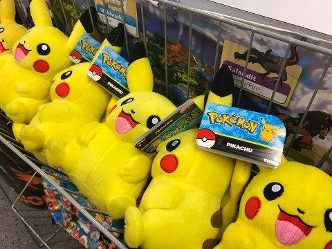 POKEMON: GameStop tjener penger på Pokemon-feberen.