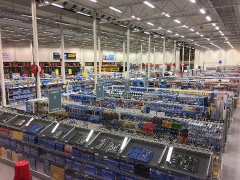 STØRRE: Biltema vil vokse seg større på Hamar og satser på nytt varehus.