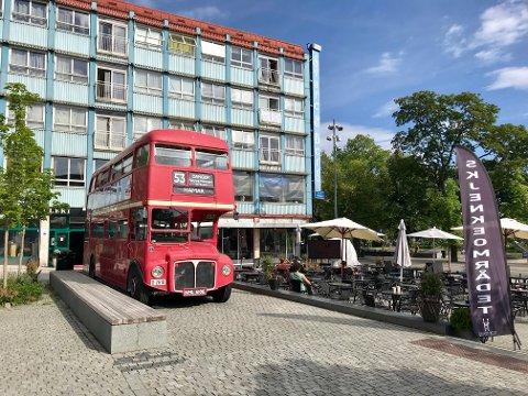 VM-BUSS: Her er den, VM-bussen som Heia Hamar benytter seg av under hele fotball-VM.