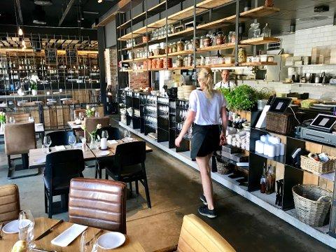 BRA START: Juli har så langt vært god for Hamar-restauranten Basarene.