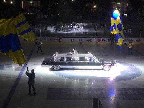 STASLIG: Eirik Skadsdammen ankommer CC Amfi.