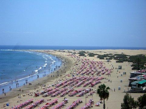 FAVORITT: Gran Canaria er fortsatt en favoritt hos hamarsingene.