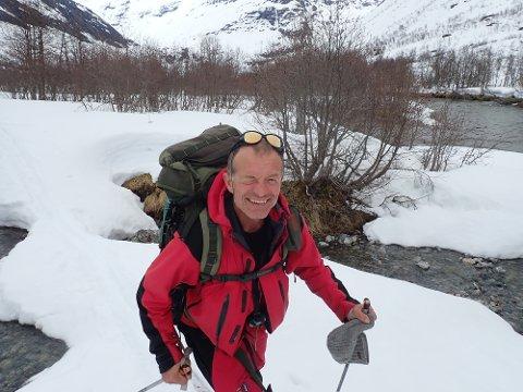 NATURMANN: Ole Martin trives ute i naturen året rundt.