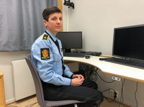 VIL FOREBYGGE: Helga Berg startet som forebyggendekontakt hos politiet i august. Foto: Trond Ivar Lunga