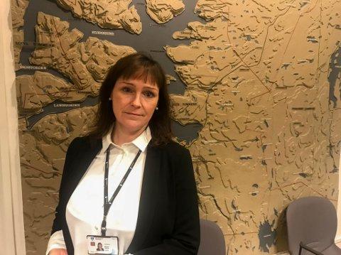 HØYT SMITTETRYKK: Alta-ordfører Monica Nielsen opplyser at det nå er høyt smittetrykk i Alta når det gjelder korona.
