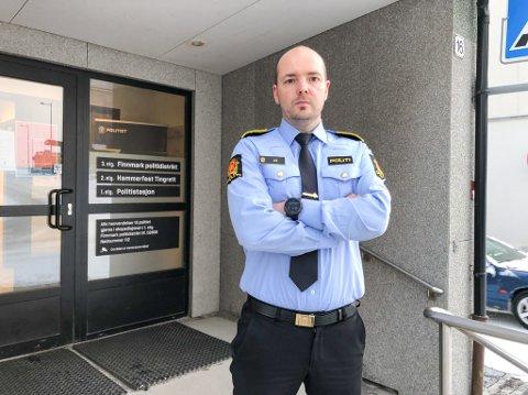 Seksjonsleder Asgeir Aule. Foto: Trond Ivar Lunga