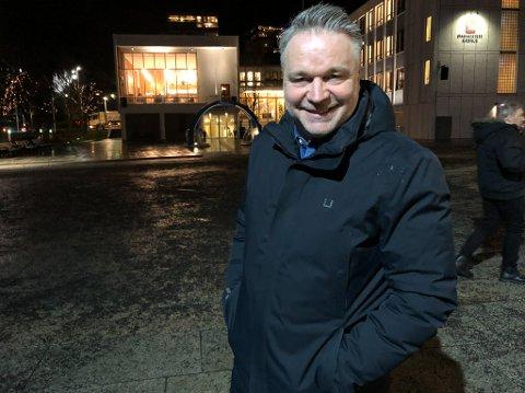 FORANDRING: Christian Altmann mener Hammerfest har forandret seg veldig mye siden har dro fra byen på 80-tallet. Foto: Trond Ivar Lunga