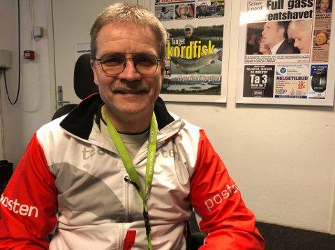 NYVALGT LEDER: Erik Lemika er nyvalgt leder av Hammerfest Senterparti. Foto: Trond Ivar Lunga