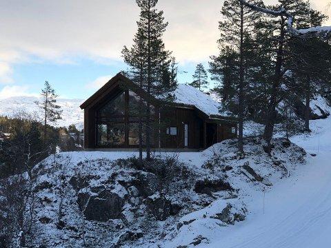Solfonn: På det nye feltet har Berge Sag selt åtte av 13 hytter.