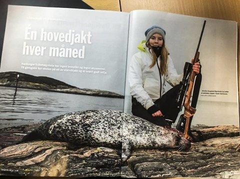 God reklame: Faksimile  oppslag om Hardanger folkehøgskole.