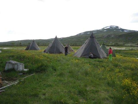 Frå fjorårets fjellhelg i Isdalen.