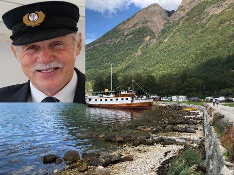 Teknikken svikta då Sildakongen debuterte som skipper på MS Lindenes.