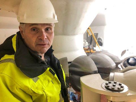 Jan Ove Sæd - prosjektleiar Herand Kraftverk