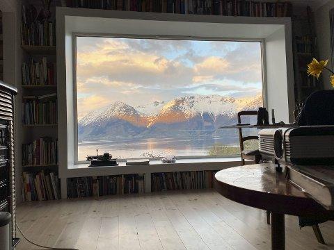 Et vinnerbilde: Utsikten fascinerer folk verden over. Foto: Kjell -Erik Ruud
