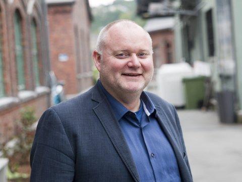 Engasjert: Oddingen Are Tomasgard ble valgt inn i LO-ledelsen i 2013. Fra før av har han en lang karriere som lokalpolitiker, blant annet to perioder som kommunestyrerepresentant i Odda, og senere ordfører i Sørum kommune. arkivfoto: Sondre lingås haukeldal