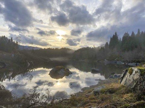 Trimbonus: Fin natur og vakre stemningar er bonus når du er på tur, Nokre ruter gir formidabel utsikt, andre rein innsikt.