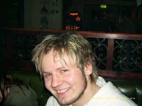 22 år gamle Erlend Nævdal Bolstad i studietiden.