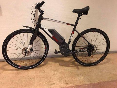 Det var ein gjenstanden frå denne sykkelen som kunne knytte ein person opp mot sykkeltjuveriet.