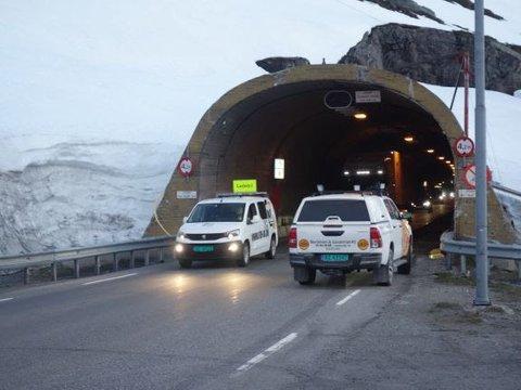 Det blir kolonnekjøring med ledebil over Haukelifjell fram til 1. november.