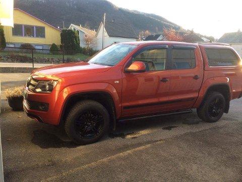FUNNET: Bilen Christian Kvamme disponerte ble funnet på 14 meters dyp i Ølensfjorden.
