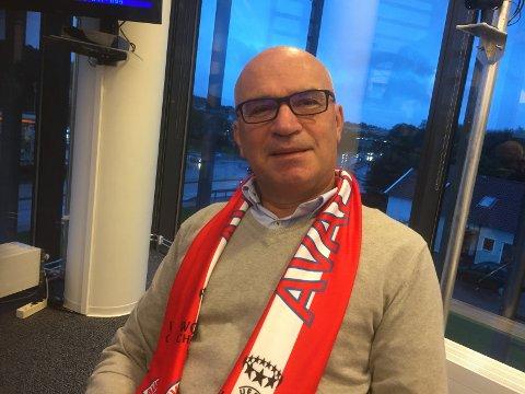 NYTT SKJERF: Daglig leder Norvald Kaldheim i Avaldsnes.
