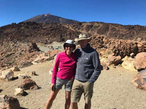 Naturen var en av tingene Margit og Torgeir Vea så fram til på Tenerife.