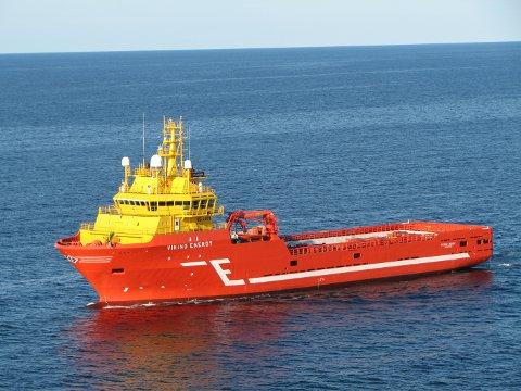 HAR ARBEID: Statoil benytter seg av et års opsjon på Eidesvik Offshore sitt forsyningsskip Viking Energy.