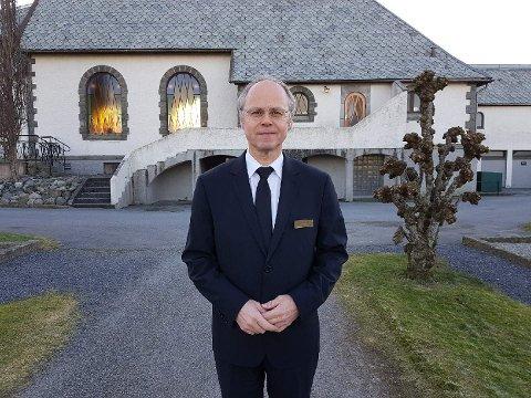 Beklagelig: Det sier daglig leder Jan Magne Moi i Karmøy Begravelsesbyrå.