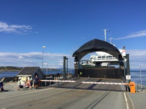 SEILER: Alle ferjer skal være i trafikk i påsken. På både Boknafjorden og i Bjørnefjorden.