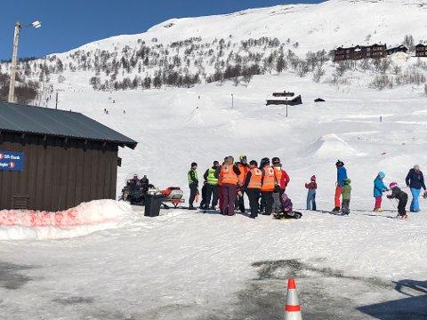 STENGTE SKITREKKET: Det aktuelle skitrekket der ulykken skjedde er stengt i påvente av kontroll fra Statens Jernbanetilsyn.