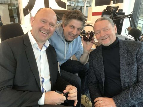 VISE- OG LYRIKKGJENGEN: Jan Mathiesen, Helge Toft og Bjørn Dybdahl.