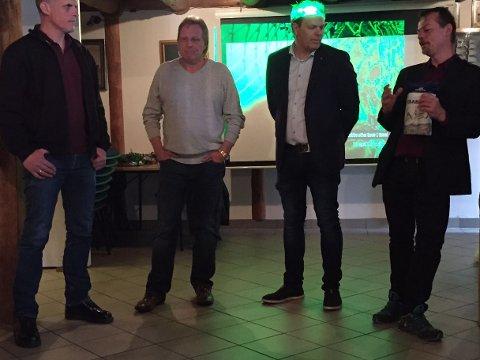 Fra v Sturla Fjellvang, Sig Hansen, Jens Inge Eng og Martin Døving.