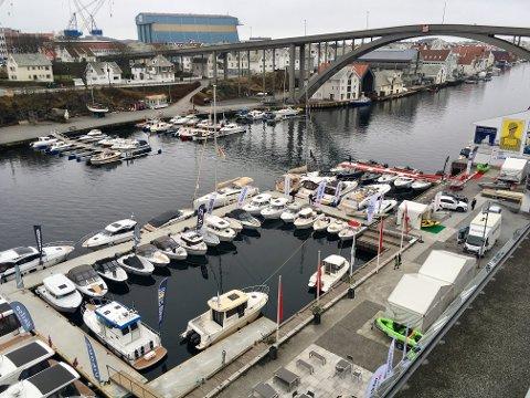I 2017: Båtmessen i Smedasundet