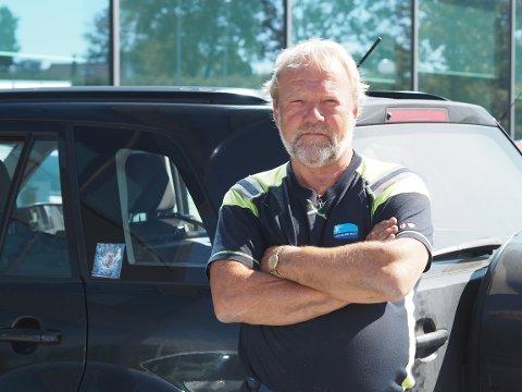 FIKK BOT: Normann Austvik (61) er skuffet over straffetaksten han fikk for toalettbesøket han gjorde på Arsvågen ferjekai for noen måneder siden.
