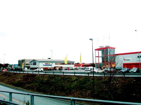 Suunhordland Eiendomsinvest har store planer for sitt nybygg på Heiane. Byggestart blir mest sannsynlig til høsten.