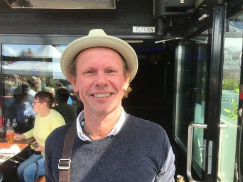 I HAUGESUND: Bo Sundström er frontmann i Bo Kaspers Orkester.
