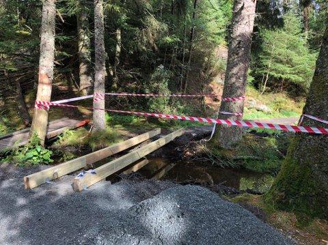 Ny bro på gang i Vangen.