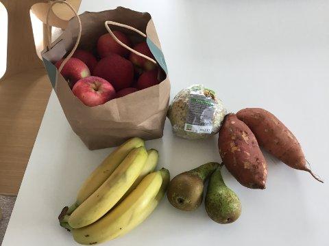 Kunden opplyser at alle disse varene hadde feil vekt. Forskjellen var jevnt over på cirka 500 gram fra butikkens vekt til vekten hjemme.