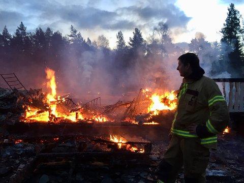 Røykdykker Hans Jørgen Eskeland.