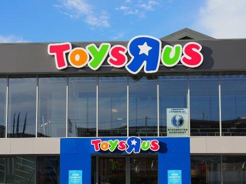 USIKKER FRAMTID: Leketøysgiganten Toys R Us har slitt lenge. I romjulen ble selskapet Top-Toy, som eier Toys R Us og BR-leker, erklært konkurs i resten av Norden, men ikke Norge.