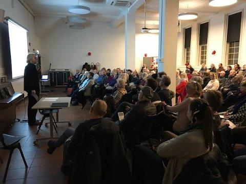 Stinn brakke på AMS-møtet i Haugesund