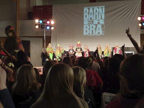 TAKKER: Vegard Vandvik er imponert over Barn er Bra-festivalen. Foto: Vegard Vandvik